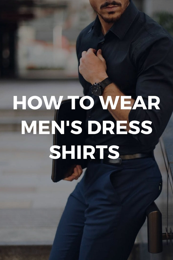 Mens dress shirt guide