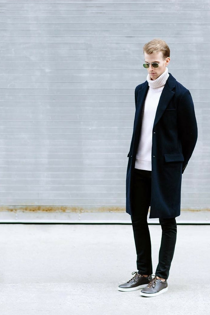 Minimal Looks For Fall Men