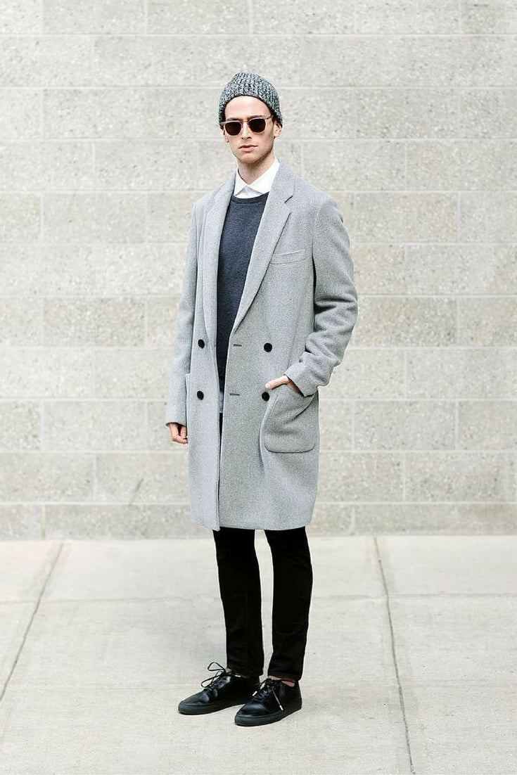 minimal fall looks for men