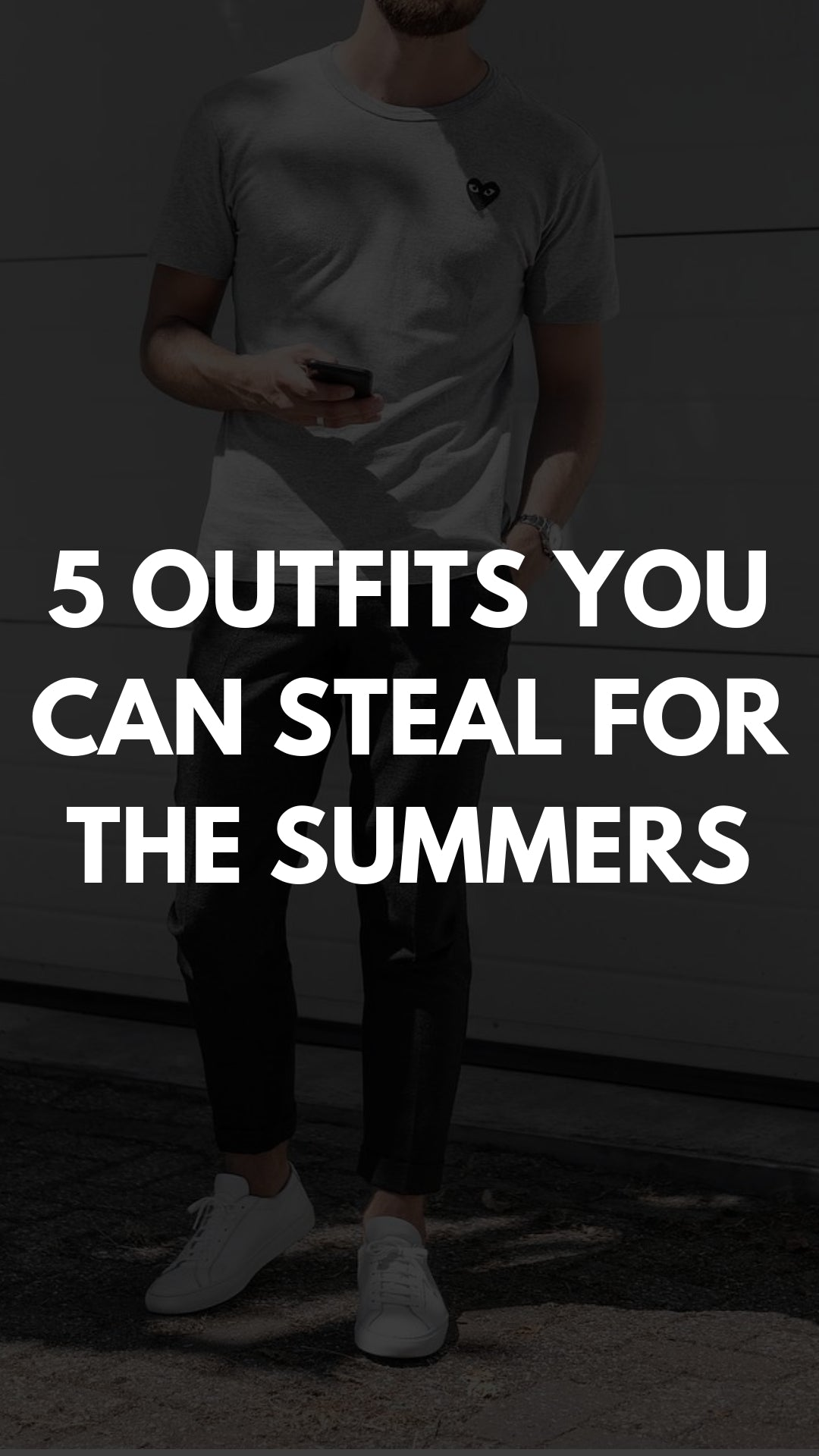 Summer outfits for men. #summer #outfits #mensfashion
