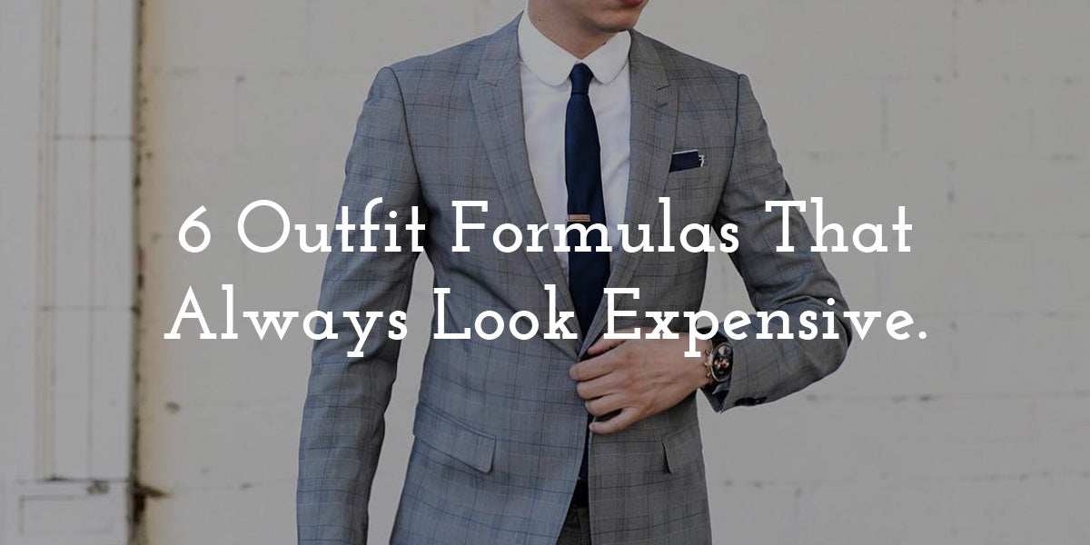 Outfit Formulas For Men