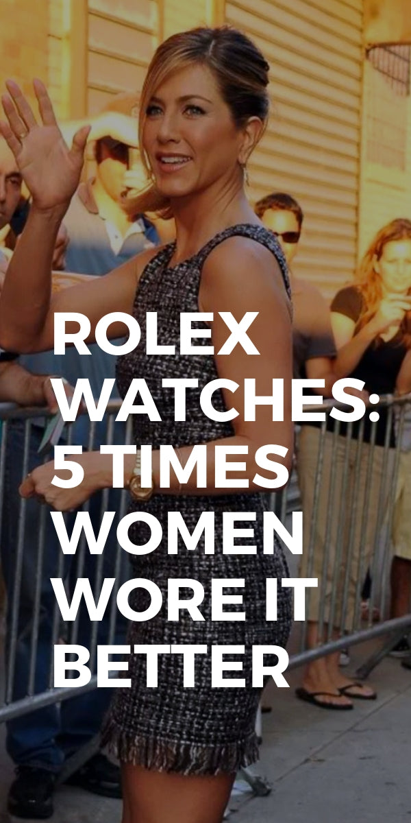 Rolex Watches: 5 Times Women Wore it Better #rolex #watches #fashion #womens #style