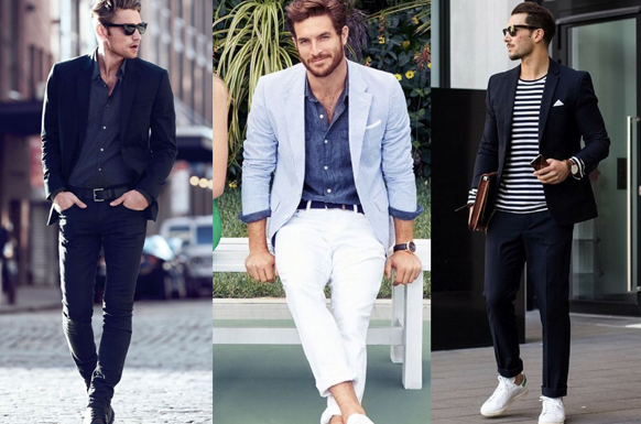 Business casual dressing style for men