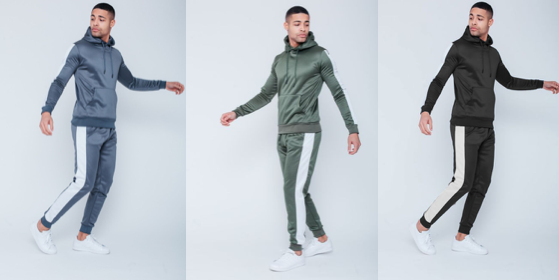 Pouch Pullover Tracksuit
