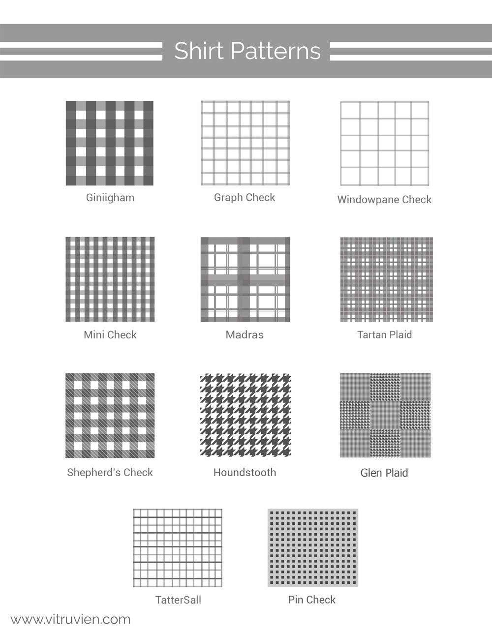 Check shirt pattern guide  #check #shirt #mens #fashion #street #style