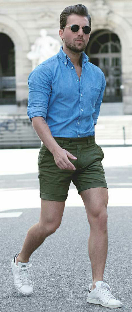 5 Dashing Shorts U0026 Shirt Outfit Ideas For Men U2013 LIFESTYLE BY PS