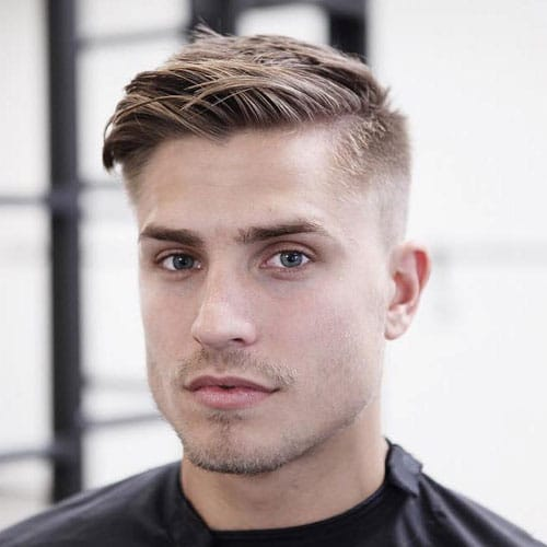 Side Part + High Fade #mens #hairstyle #haircuts