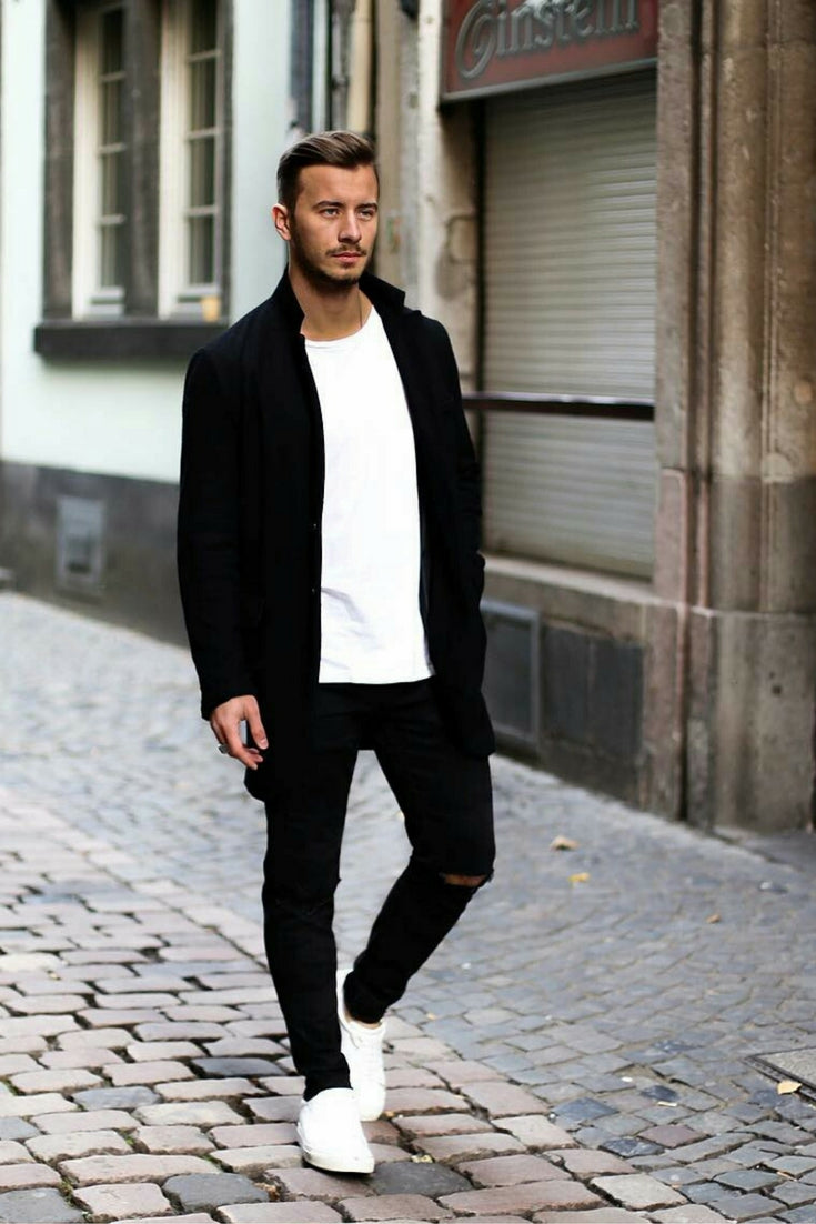 everyday outfit formulas, simple street style looks for men