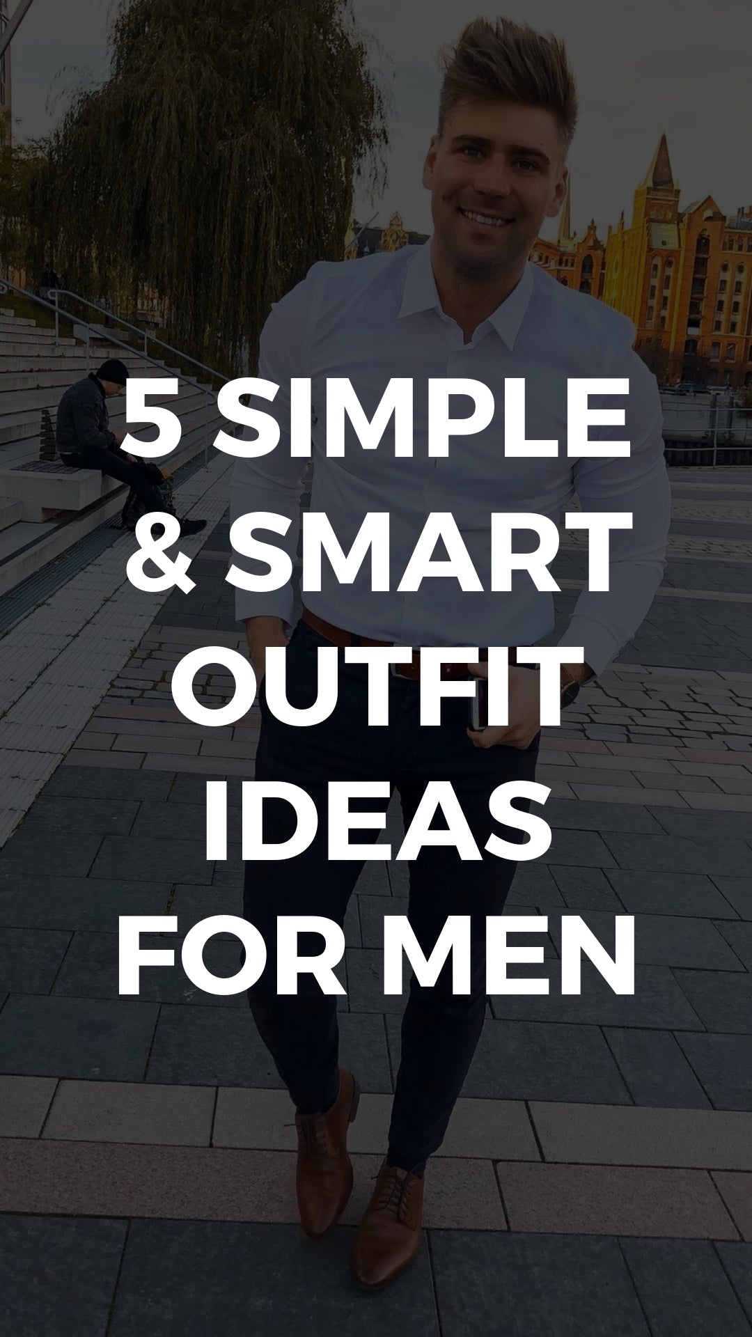 5 Simple Outfits You Can Wear On Repeat #simple #outfits #mensfashion #streetstyle