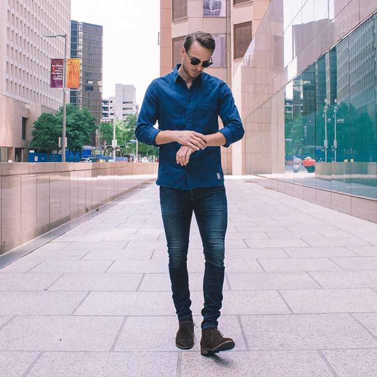 check out the 5 slimming style rules every guy should follow.