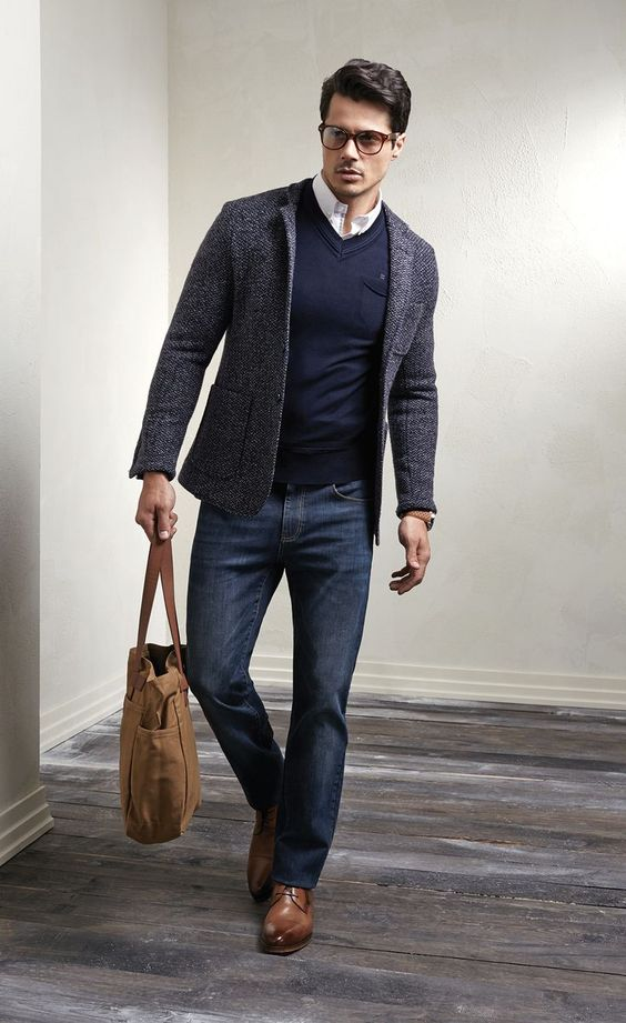 9a2eaa3fc08 Smart casual style for men  mensfashion  fashion  style
