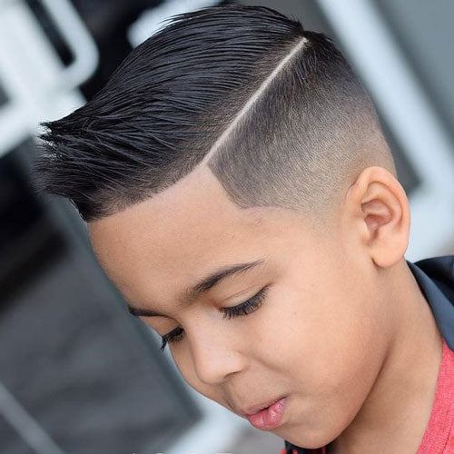 Spiky Hair with Low Fade