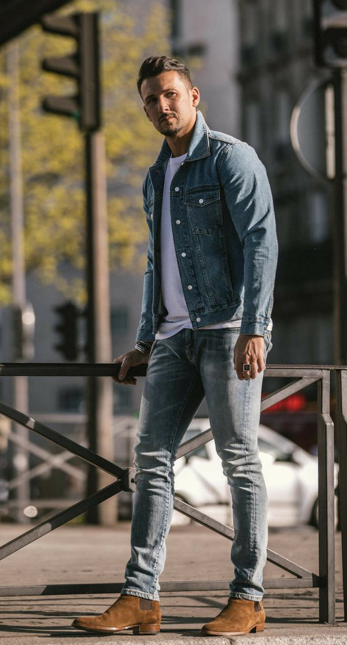 Street style looks for men