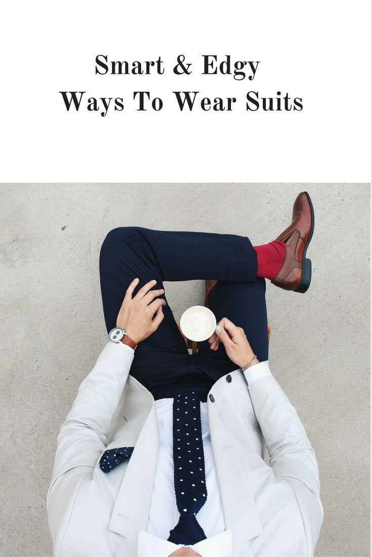 How to wear suit for men