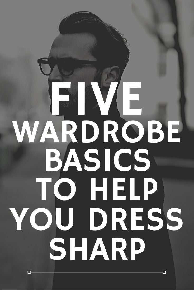 Five Wardrobe Basics To Help Men Look Good This Winter