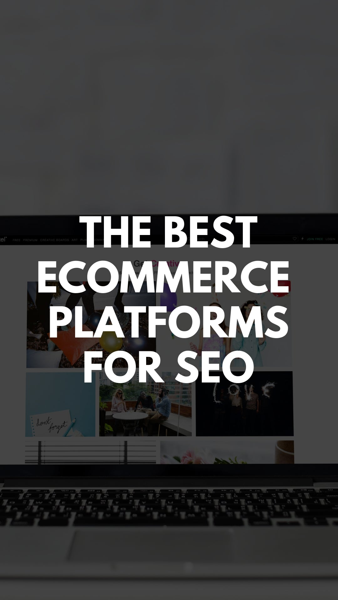 The Best Ecommerce Platform For SEO - The Features That Matter #ecommerce #platforms #seo