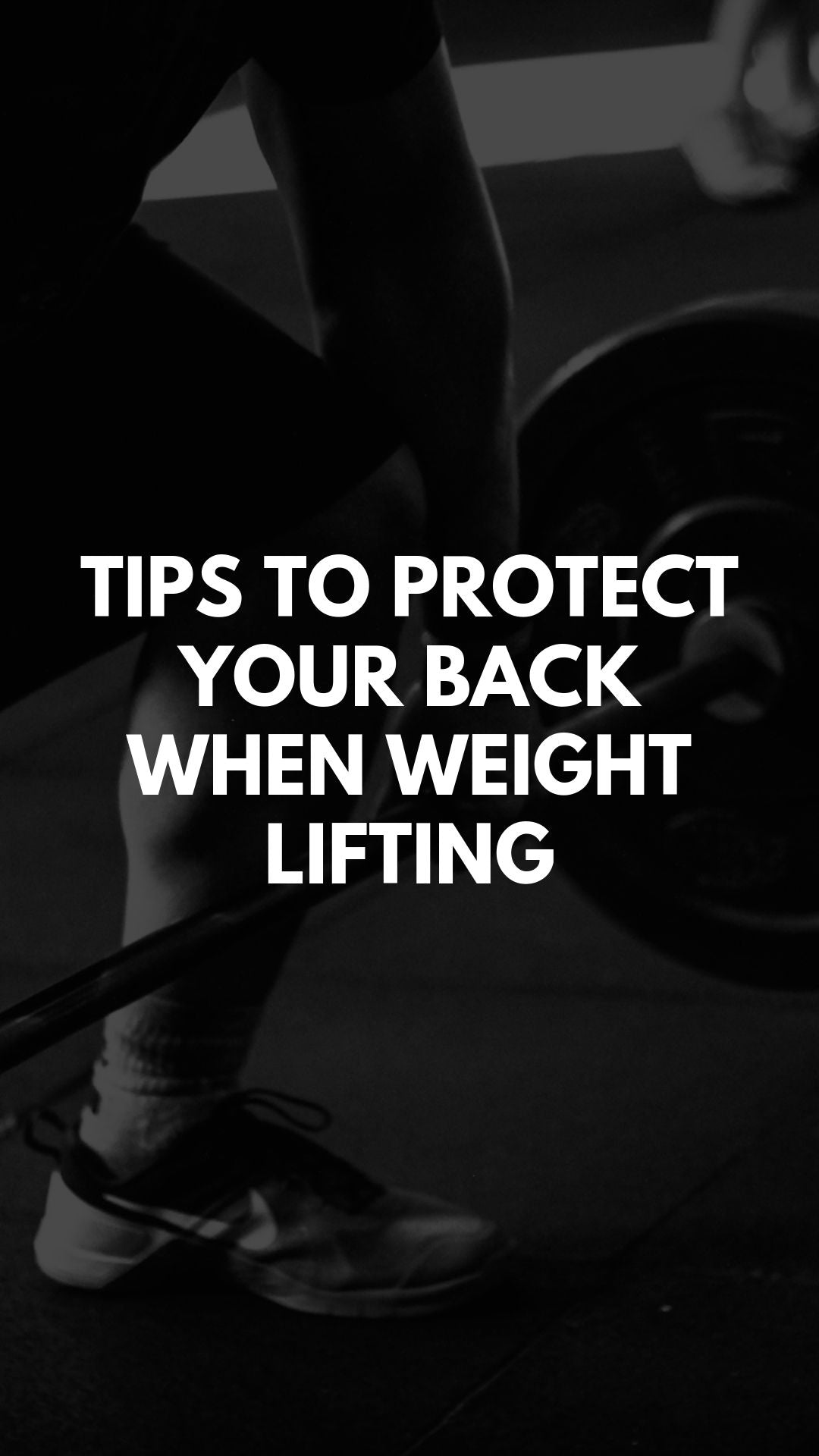 Tips to Protect Your Back When Weight Lifting #backpain #weightlifting