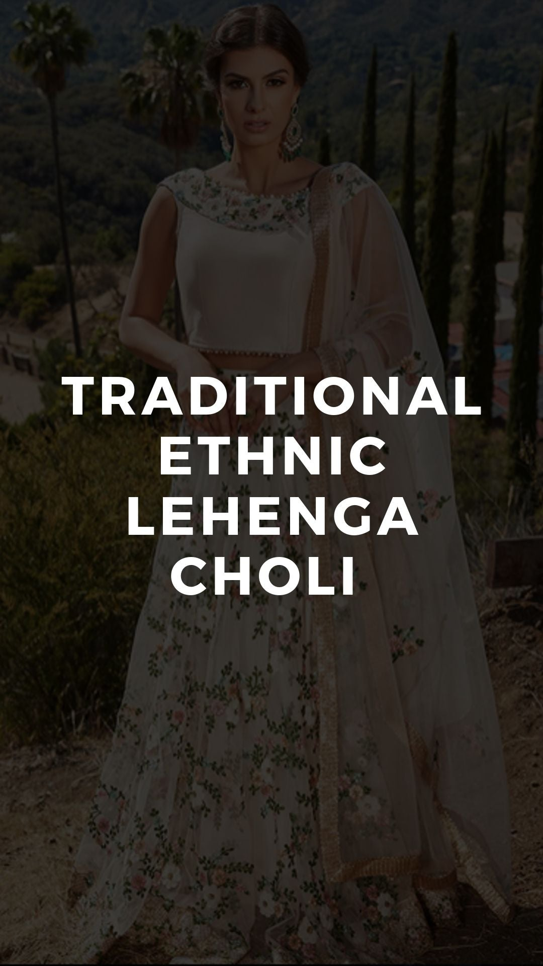 Traditional Ethnic Lehenga Choli