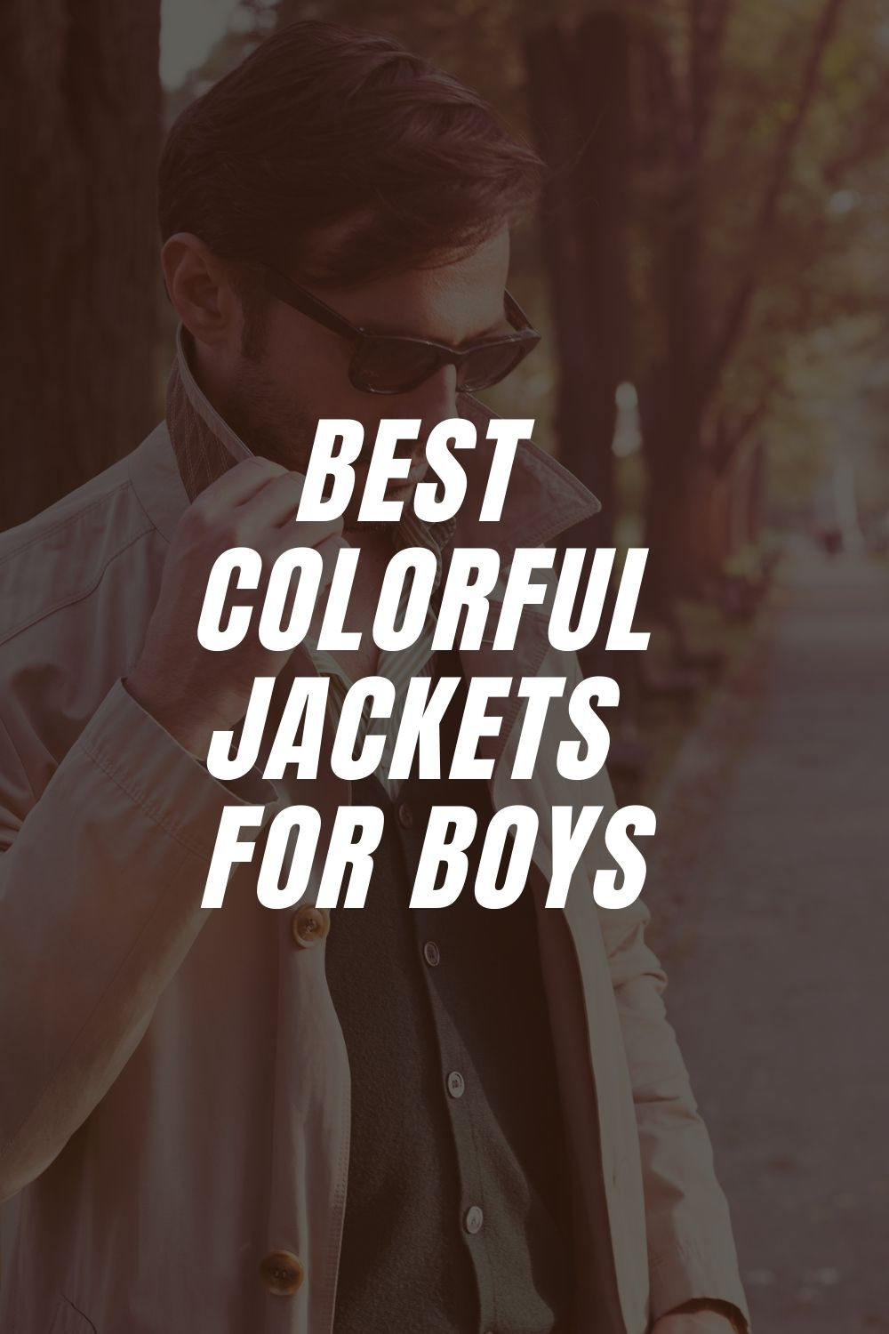 Best Colorful Jackets for Boys