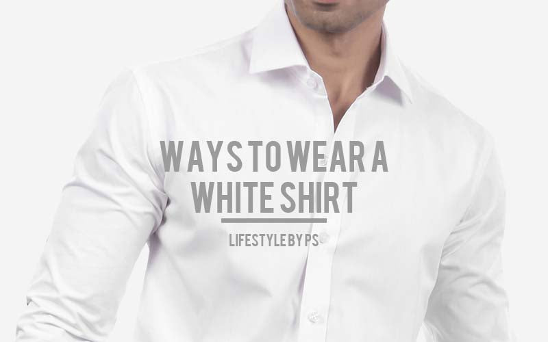 White Shirt For Men
