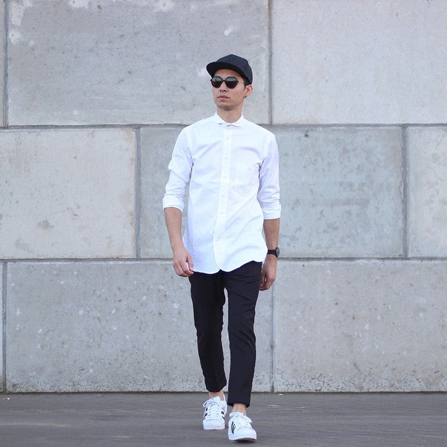 13 Ways To Wear Your Crisp White Shirt For Men White Shirt Looks