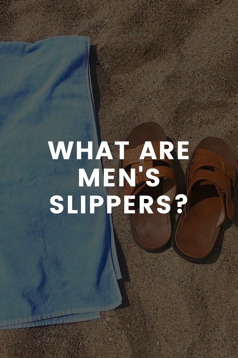 What are Men's Slippers?