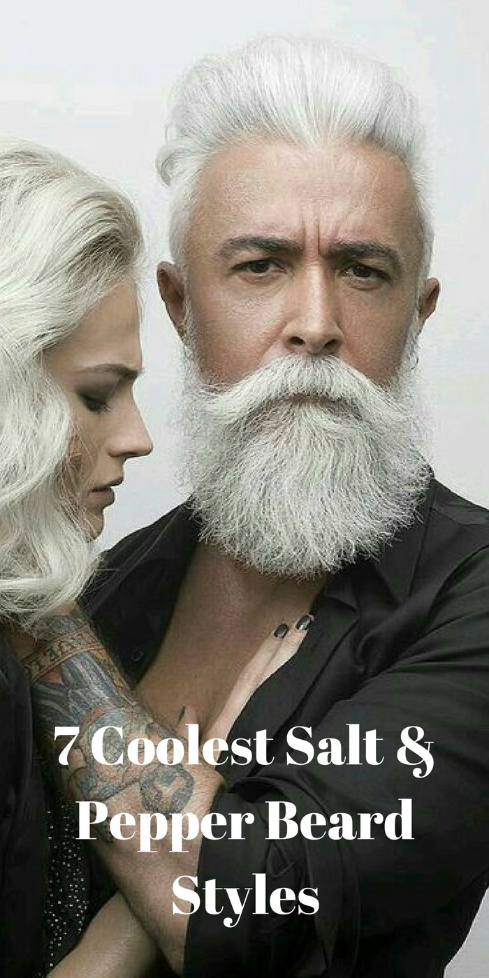 7 Coolest Salt Pepper Beard Styles Lifestyle By Ps