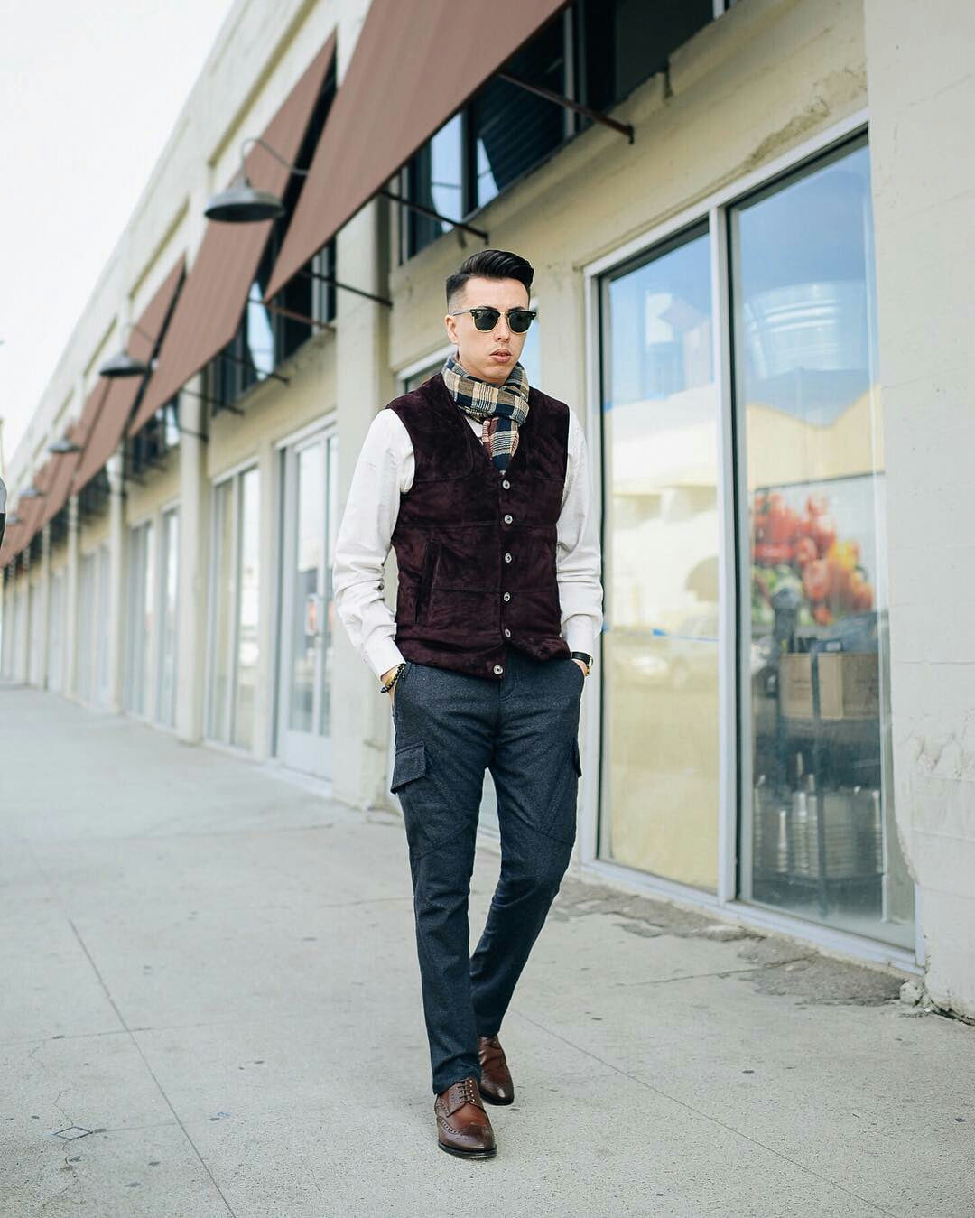winter street style looks for men