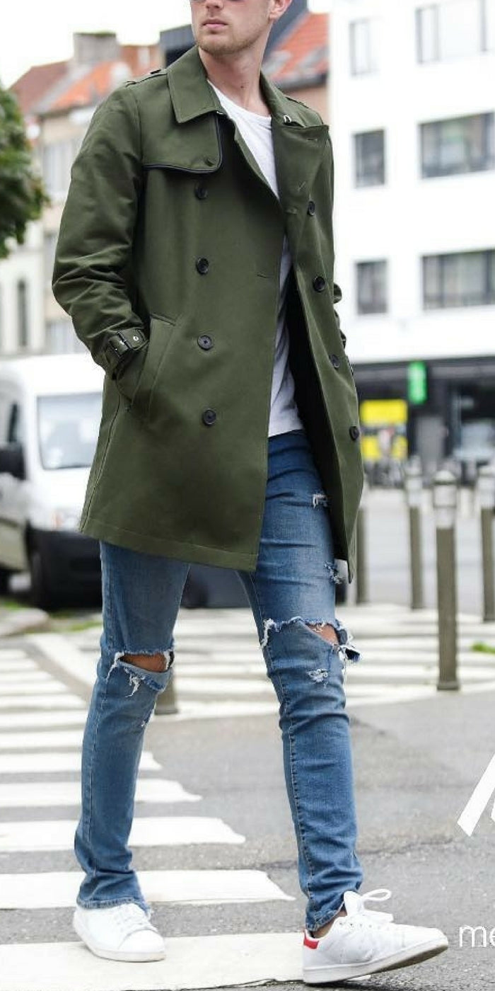 Winter outfit ideas for men. #mensfashion #fallfashion #streetstyle