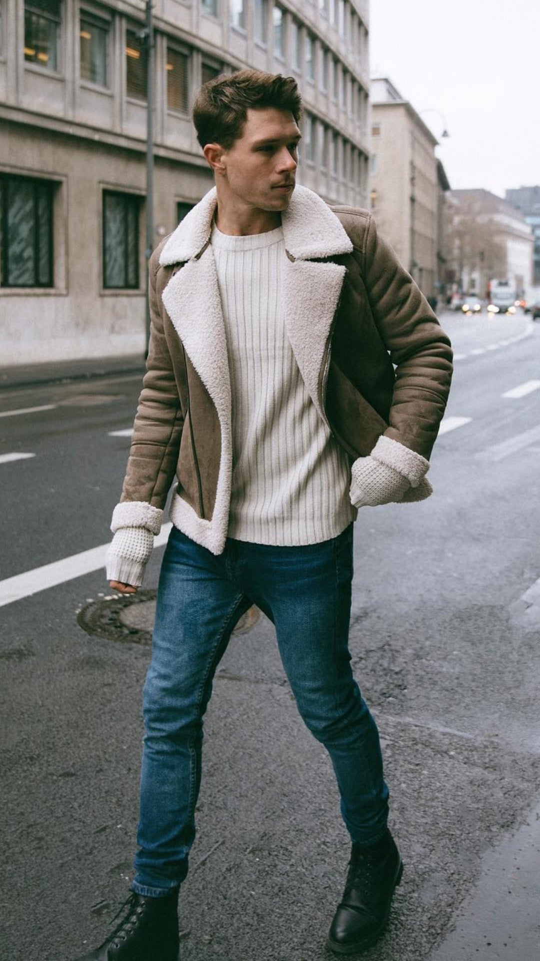 5 Amazing Outfits To Elevate Your Winter Style Game #winterstyle #mensfashion #streetstyle