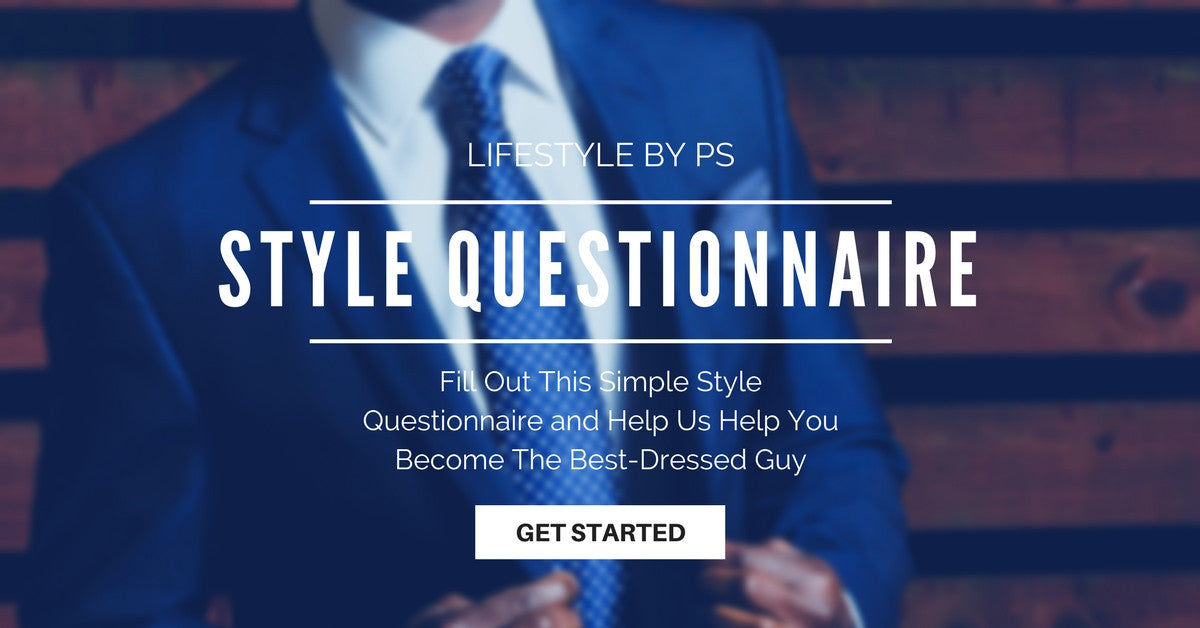 STYLE QUIZ FOR MEN