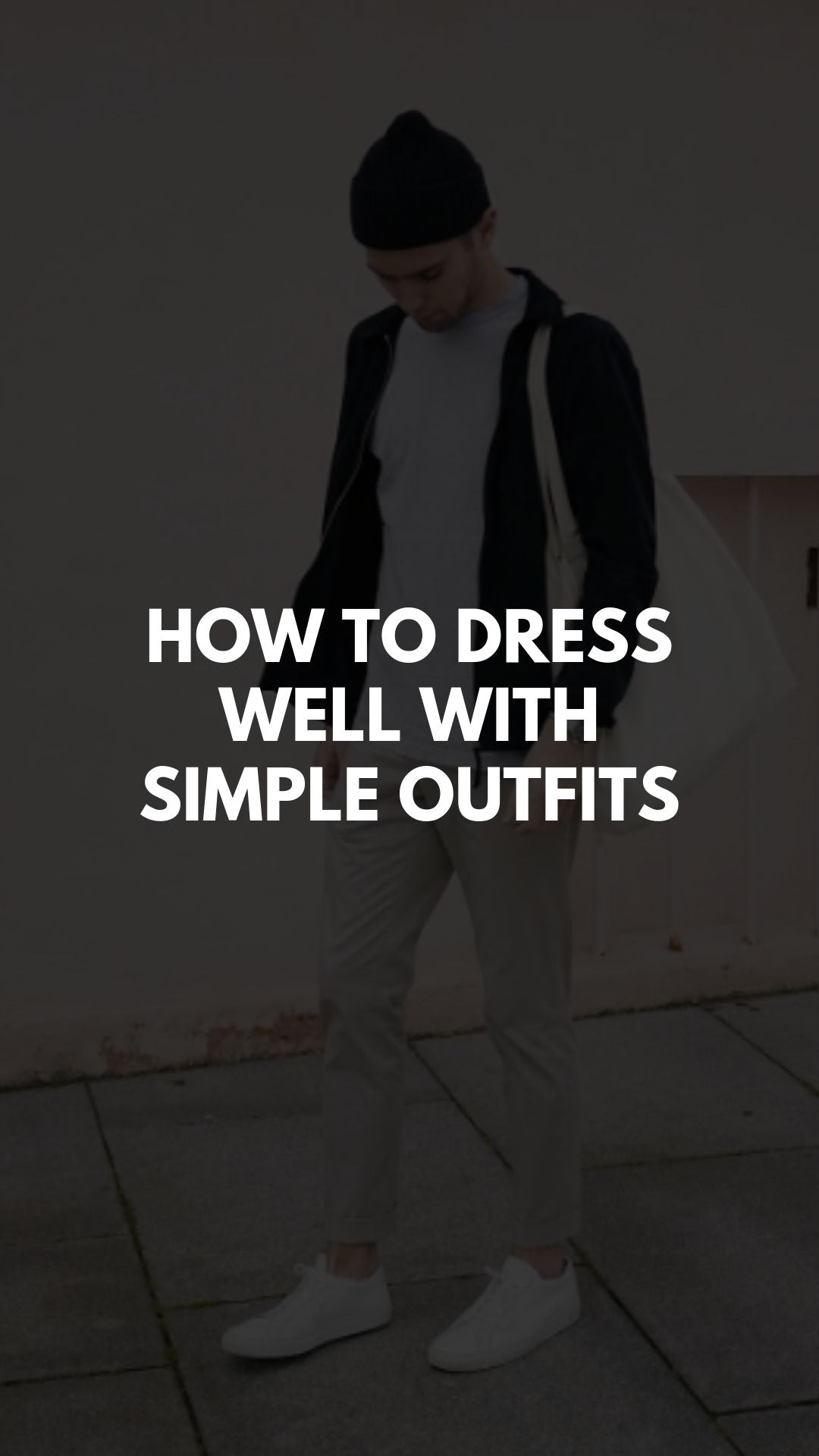 Simple outfit ideas for men #mensfashion #simplestyle #simpleoutfits
