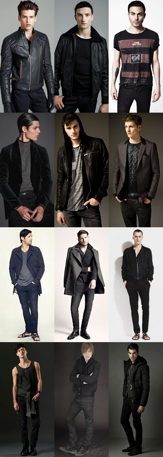All black outfits inspiration