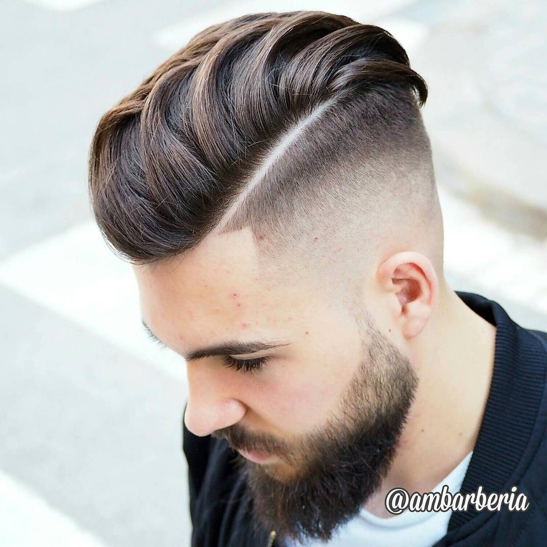 15 coolest undercut hairstyles for men. men's undercut hairstyle