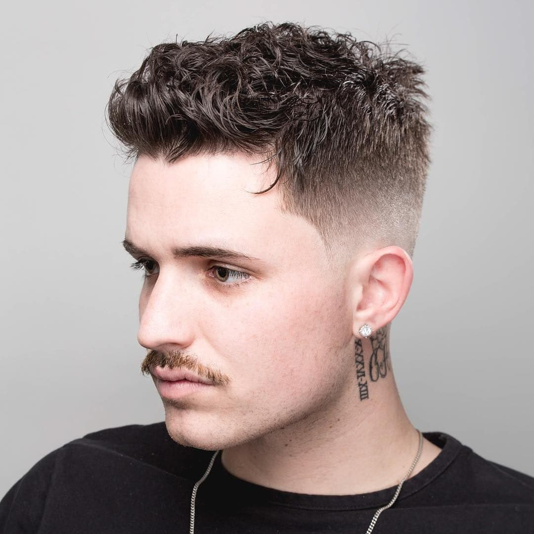Short haircuts for men 2019 #short #haircuts #hairstyles