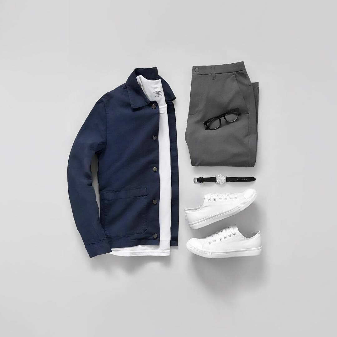Instagram outfit grids for men