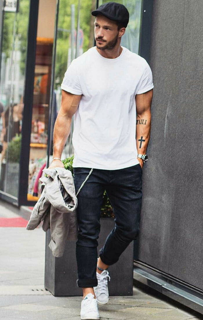 696101c7 5 Coolest White T-shirt Outfit Ideas For Men – LIFESTYLE BY PS