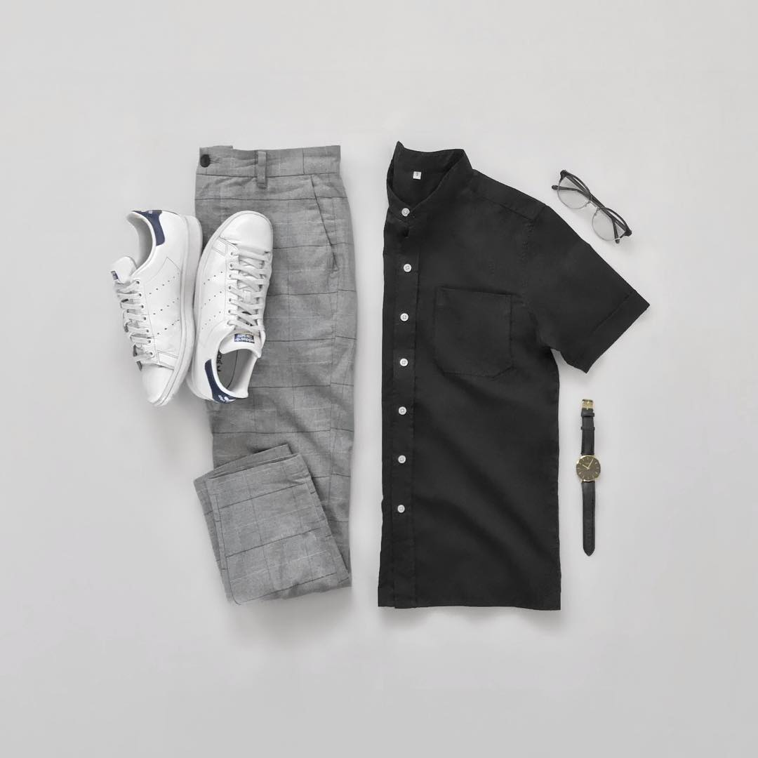 Capsule wardrobe outfits for men