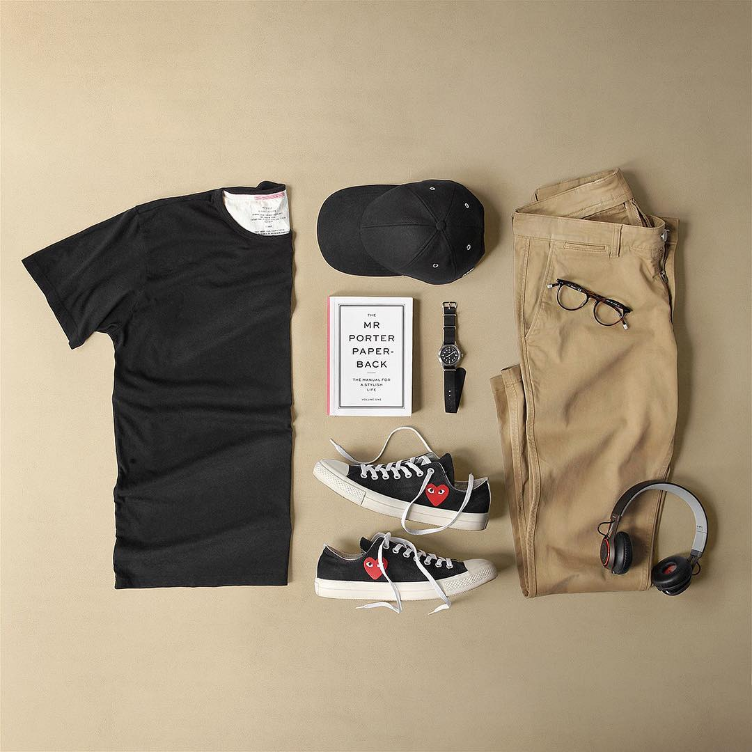 khaki chins outfits for men