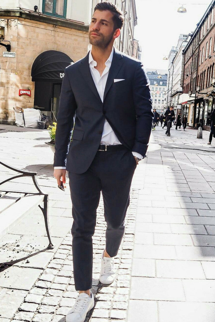 8 Cool Navy Chinos Outfit Ideas