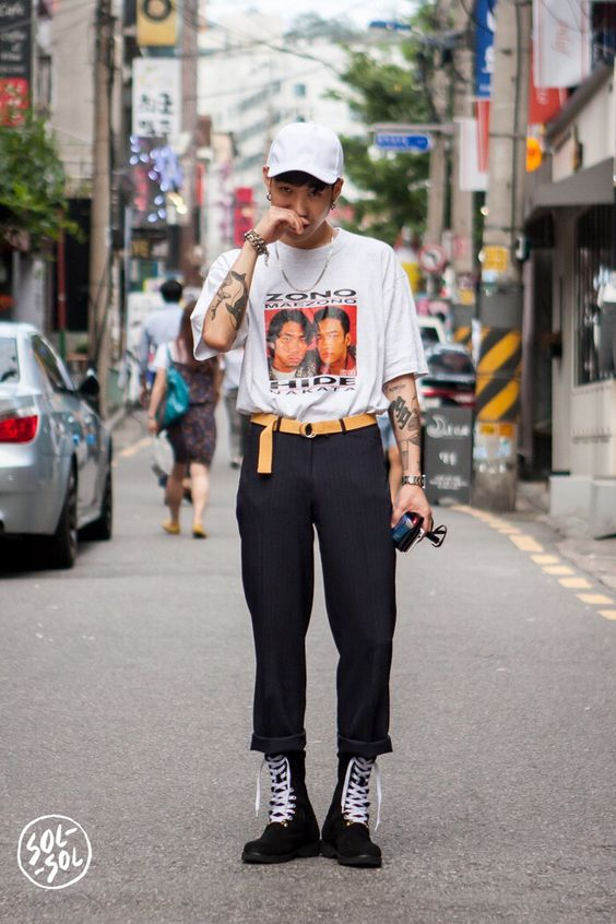 Street Fashion Looks For Men - #streetfashion #mens #fashion