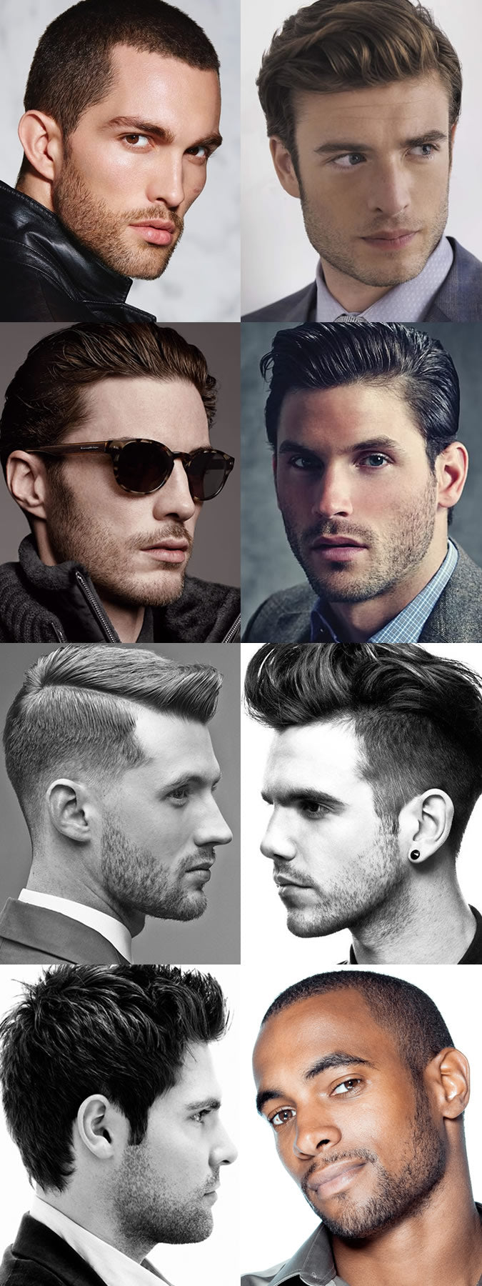 cool stubble looks for men & guys