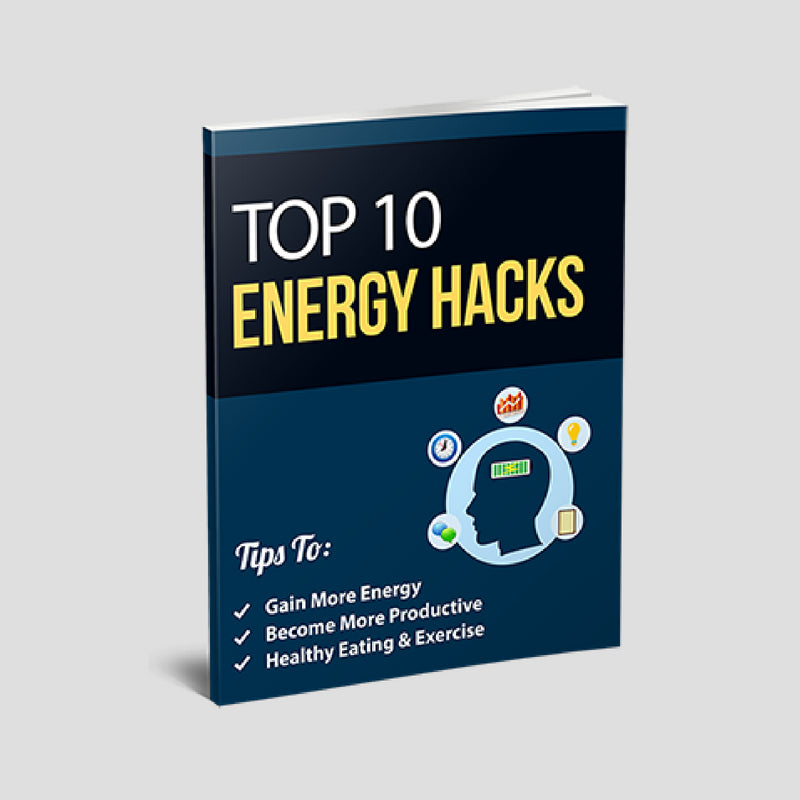 FREE EBOOK - TOP 10 ENERGY HACKS - LIFESTYLE BY PS