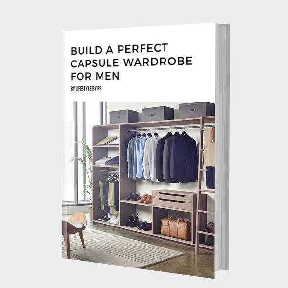 Capsule Wardrobe For Indian Men (eBook)