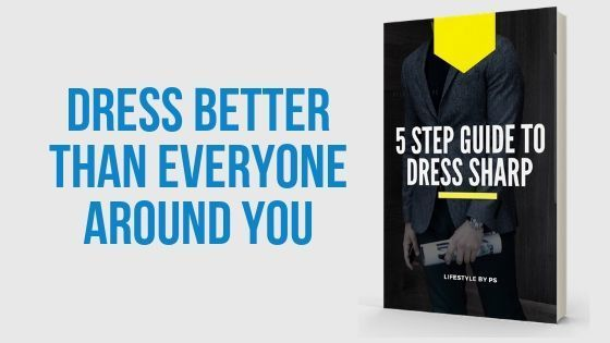 Free eBooks - 5 Steps To Dress Sharp