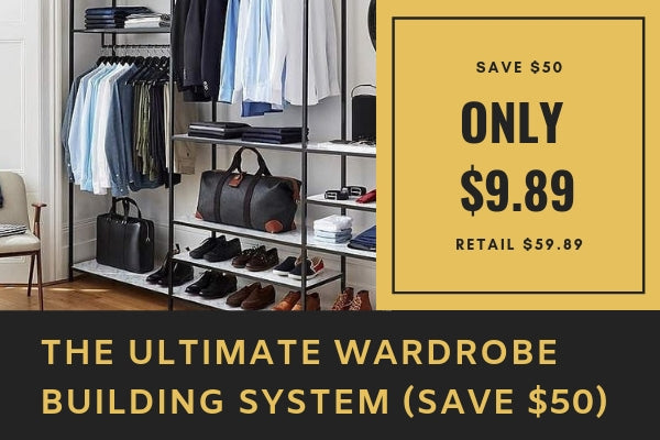 Slob To Fab - The Ultimate Wardrobe Building System For Men