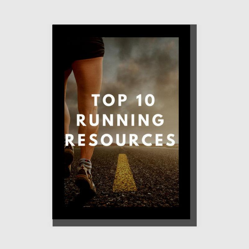 Free Ebook - Top 10 Running Resources - LIFESTYLE BY PS