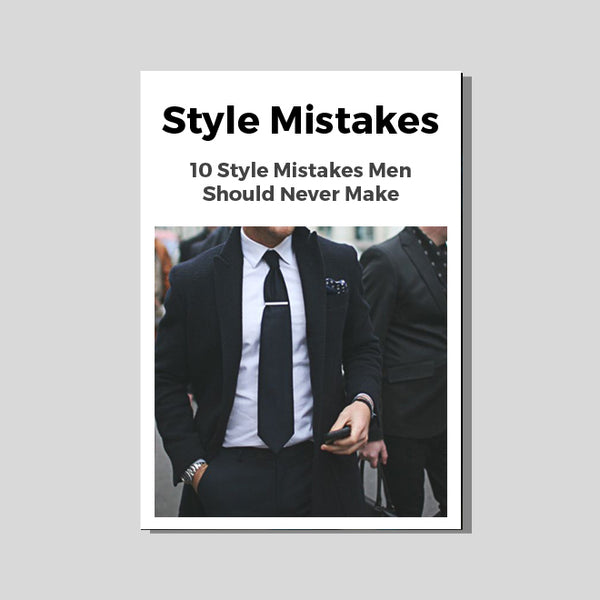 Style Mistakes Men