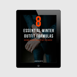 winter essential outfit for men