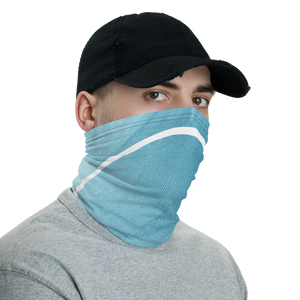 Stylish Face Mask + Headband In Aqua